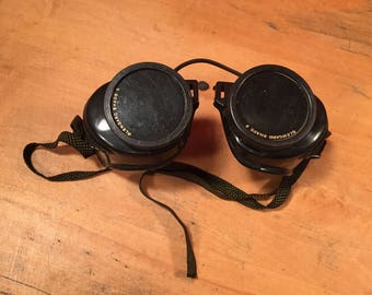 Vintage Retro Steampunk Welding Cosplay GOGGLES by Glendale Optical