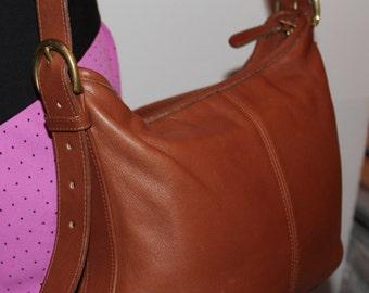 Vintage 90s Brown Coach Handbag