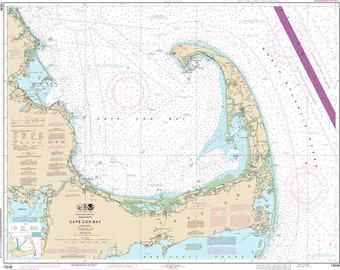 NOAA Chart - Cape Cod Bay