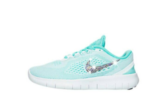 5141b95a143637 Girl s grade school Nike free run running shoes by InsaneCrystals low-cost