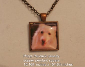 Memory Photo Pendant Jewelry