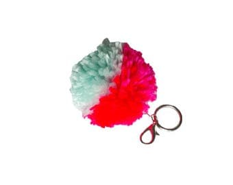 You're the Pom! Two Tone Keychain