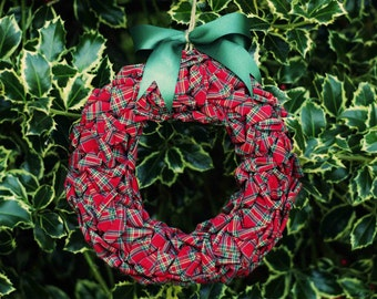 Scottish fabric Garland