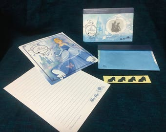 Disney Cinderella Stationery Set with Window Envelopes