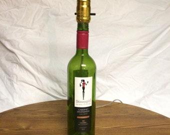 SkinnyGirl Wine Bottle Lamp