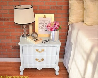 SOLD! French Provincial nightstand *SOLD*