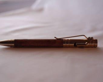 Bolt Action Copper Pen. Handmade Pen. Executive Pen. Ball Point Pen.