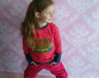 Corduroy pants pink petrol so cool 92-152