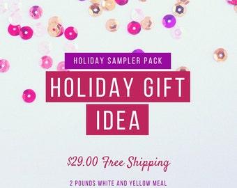 Holiday Sampler Pack Cornmeal & Grits