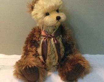 """SOLD !! Artist bear """"Frith"""",one of a kind handmade bear"""