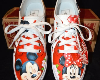 Custom hand painted vans - ANY DESIGN, any size