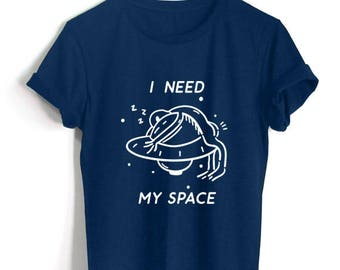 I need my space - one color Shirt Alien need my space Shirt Alien Clothing Unisex Size Tumblr Pinterest