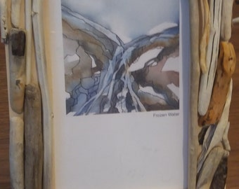 Driftwood Frame (6 x 4 photo/print)