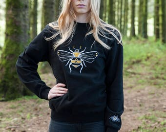 Bumblee Bee Black Sweater