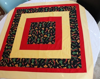 Dancing Hot Pepper Tablecloth