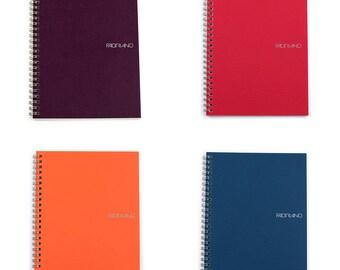 Fabriano EcoQua A5 wirebound notebook