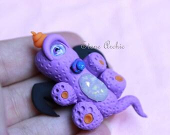 Happy baby purple people eater