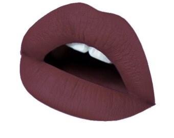 Embellished liquid lipstick matte vegan waterproof
