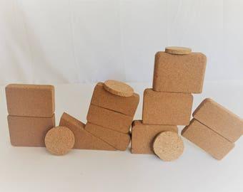 Natural Cork Blocks