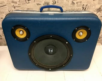 200w Vintage Suitcase Speaker (ready for shipping)