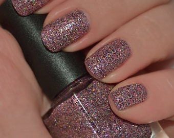Jems & Jewels - Pink, Purple, Silver and Holographic Glitter Nail Polish
