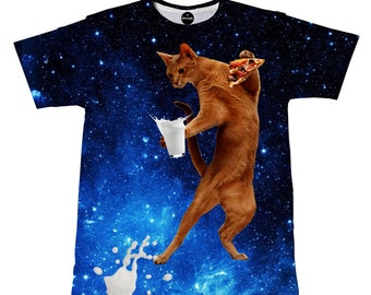 iTrendy Cat Galaxy T-shirt