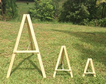 SIGN EASEL, Sign stand, wedding sign easel, business sign easel.
