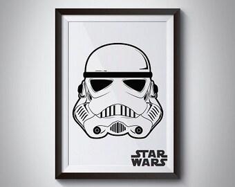 Star Wars Stormtrooper, Set of 2, Instant Download