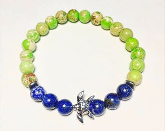 Save sea turtles  bracelet