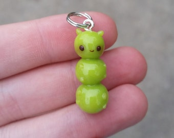 Caterpiller Necklace Pendant