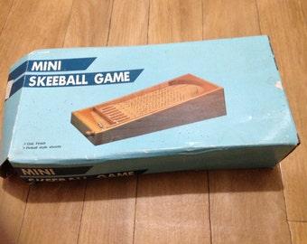 Vintage Mini Skeeball Game (Pinball)