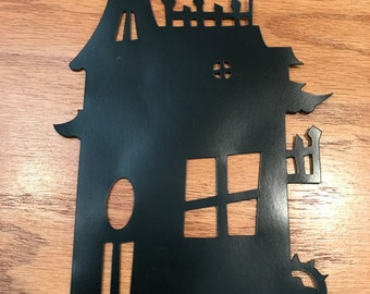 Haunted House Magnet
