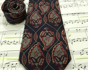Vintage Botany 500 Silk Necktie, Made in USA