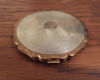 Vintage Stratton Compact Makeup and Mirror c.1940s
