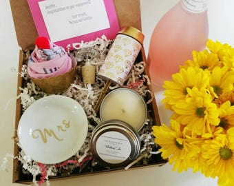 Engagement Gift Basket. Congratulations Gift. Wedding