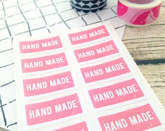 Hand made sticker, Sticker hand made, Hand made label, Label hand made, Hand made business, Hand made packaging, Packaging hand made