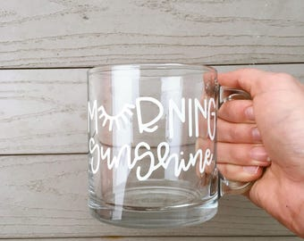Morning Sunshine Glass Mug