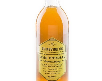 BG Reynolds Lime Cordial 375ml