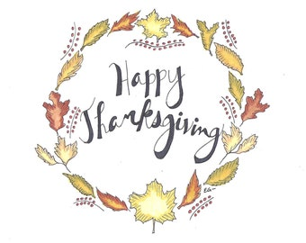 Card Illustration - Thanksgiving