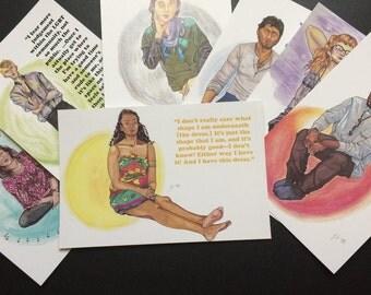 Pictures/Words - Postcard Prints