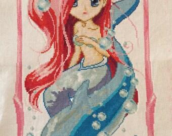 Handmade Chinese Embroidery: Mermaid