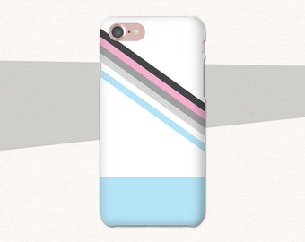 Geometric iPhone Case Striped iPhone Case, Blue iPhone 6S Case Abstract iPhone 7 Case 6 Plus 5 SE Galaxy S7 Case S6 S5 Edge Lg G5 Phone Case