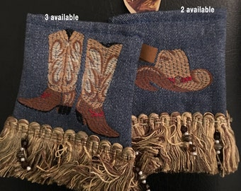 Pick Pockets: Denim with Embroidery