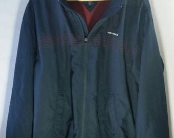Vintage Tommy Hilfiger yacht jacket with hood men's xxl