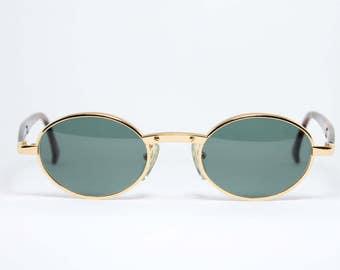 ALAIN MIKLI Gold Filled Unique Vintage Sunglasses Sonnenbrille Occhiali Gafas 3215 7481G Handmade in France