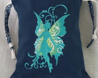 Drawstring Project Bag, Accesssory Bag, Knitting, Crocheting, Cosmetic Bag,Pajama bag, Multi purpose bag