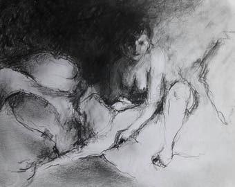 Original graphite drawing 1febr2017