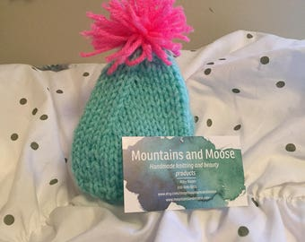 Faith Ribbed Baby Hat