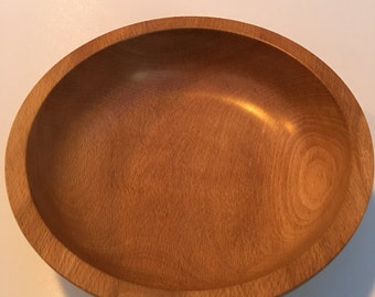 Beech Hand Turned Bowl
