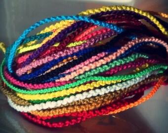 NEW! Handmade! Lot KNOT STYLE friendship bracelets Wholesale